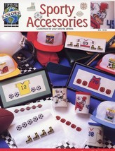 Sporty Accessories True Colors Cross Stitch PATTERN/INSTRUCTIONS/NEW - $1.41