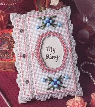 Little Lady Diary Annie's Plastic Canvas Pattern Leaflet - $1.77