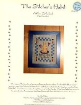 A Fine Cat Indeed Stitcher's Habit Cross Stitch Pattern NEW - $3.57