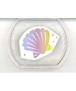 Scallop Shell - Fiskars Stackable Rubber Stamp NEW - $0.90