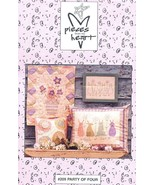 Party of Four Pieces From My Heart Quilt Pattern Leaflet NEW - $2.22