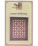 Sweet William Piece by Piece Quilt Pattern/Instructions NEW - $5.37