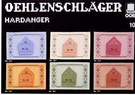 Oehlenschlager Hardanger #10 NEW OOE Pattern Leaflet - $4.47