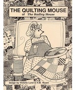 The Quilting Mouse of The Radley House Pattern RARE NEW - 30 Days to Pay! - $15.27