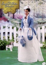 Southern Belle Flower Show Fashion Doll Dress Crochet Pattern 30 Days To Pay! - $8.07