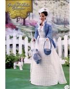 Southern Belle Flower Show Fashion Doll Dress Crochet Pattern 30 Days To... - $8.07