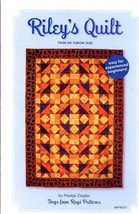 Riley's Quilt Twin or Throw Bags from Rags Quilt Pattern NEW 30 Days to ... - $6.27