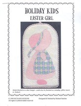 Holiday Kids Easter Girl NEW Needlepoint Pattern Leaflet - 30 Days to Pay! - $7.17