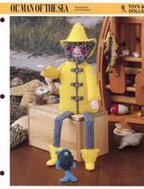 Ol' Man Of The Sea Annie's New Plastic Canvas Pattern Rare Htf - $3.12