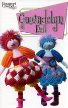 "17"" Gwendolyn Doll Gourmet Crochet Pattern Leaflet NEW - $8.07"
