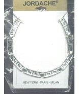 """Jordache Silvery Pattern Chain 16"""" Necklace NEW 30 Days to Shop & Pay! - $3.57"""