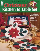 Christmas Kitchen to Table Set HoWB Quilting Pattern NEW - 30 Days to Pay! - $8.97