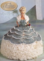Miss September 1992 Cotillion Barbie Doll Outfit Crochet Pattern Leaflet - $2.22