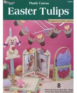 Easter Tulips 8 Designs Plastic Canvas PATTERN/INSTRUCTIONS NEW - $1.77