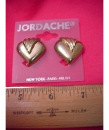 Jordache Golden Clip On Earrings NEW 30 Days to Shop & Pay! - $2.67