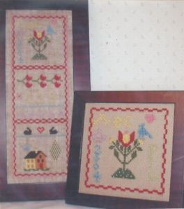 Primary image for My First Samplar Part 1 Praiseworthy Stitches Cross Stitch Pattern Leaflet NEW