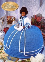 Miss December Gems of South Outfit For Barbie Doll Annie's Crochet Pattern - $2.67