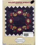 Wildflower Wreath Mosaic by Shannon Williams NEW Quilt Pattern - $5.37