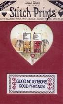 Neighbors June Grigg Stitch Prints Cross Stitch Kit NEW - $6.27