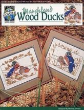 Marshland Wood Ducks Cross Stitch Pattern Leaflet True Colors NEW - $1.77