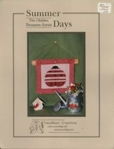 Summer Days Hidden Treasures Series Thread Creations Cross Stitch Pattern - $1.77