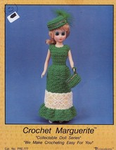"Marguerite 15"" Doll Dress Td Creations Crochet PATTERN/INSTRUCTIONS - $2.67"