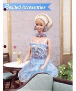 Beaded Accessories Earring, Necklace Belt for Barbie Doll Plastic Canvas... - $1.32