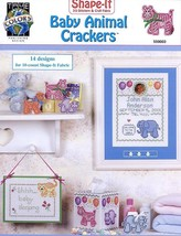 Baby Animal Crackers Cross Stitch Pattern/Instructions Baby Announcement - $1.77
