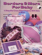 Borders & More For Baby Cross Stitch Pattern Leaflet - 30 Days to Pay! - $2.67