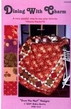 Dining With Charm Tablecloth From the Nest Charm Pack Quilt Pattern NEW - $6.27