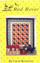 An item in the Crafts category: Mojave Sunset Red Rover Quilt Pattern Leaflet NEW