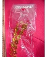 "Jordache Golden Flowers 18"" Chain 18K GP NEW 30 Days to Shop & Pay! - $4.47"
