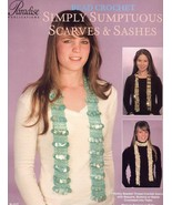 Simply Sumptuous Scarves & Sashes Paradise Beaded Thread Crochet Pattern... - $8.07