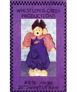 "Angie 20"" Sweet Lil' Bear Doll NEW Whistlepig Creek Pattern 30 Days to Pay! - $2.67"