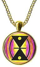 Adinkra Mmere Dane of Life Dynamics for Time Changes Gold Pendant - $14.95