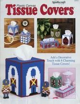 8 Tissue Covers Boat Ladybug Duck Elephant Apple Plastic Canvas PATTERN - $2.22
