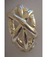 Jordache Golden Oval Frame Clip On Earrings NEW 30 Days to Shop & Pay! - $3.57