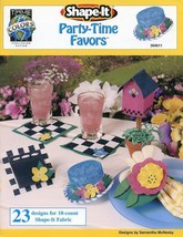 Party-Time Favors True Colors Cross Stitch Pattern - 30 Days To Shop & Pay! - $1.77