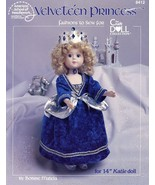 "Velveteen Princess 14"" Katie Doll Outfit ASN 8412 Sewing Pattern  30 Day... - $2.67"