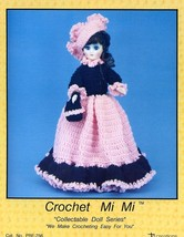 "Mi Mi Doll Outfit For 15"" Doll Td Creations Crochet PATTERN/INSTRUCTIONS - $2.67"