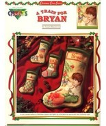 A Train For Bryan Christmas Stockings Color Charts Cross Stitch Pattern ... - $3.57