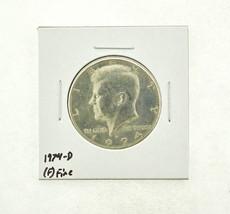 1974-D Kennedy Half Dollar (F) Fine N2-3668-6 - $0.89