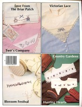 Vintage Collars From Linens Plaid Cross Stitch Pattern 30 Days to Pay! - $1.77