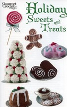 Christmas Holiday Sweets and Treats Gourmet Crochet Pattern 30 Days To Pay! - $8.07