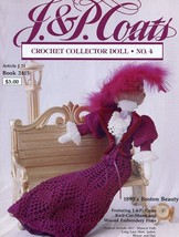 1890's Boston Beauty Paradise Crochet Doll & Outfit Pattern 30 Days To Pay! - $15.27