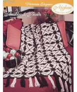 Baubles & Beads Victorian Elegance Afghan Crochet TNS PATTERN/INSTRUCTIO... - $0.89