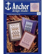 Hedgerow Samplers Coats & Clark Hardanger Pattern Leaflet NEW - $4.47