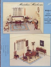 Miniature Heirlooms Book II Doll Cross Stitch Pattern RARE-30 Days To Shop & Pay - $22.47