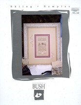 Skiing Sampler Shepherd's Bush Cross Stitch Pattern Leaflet - 30 Days to... - $3.57