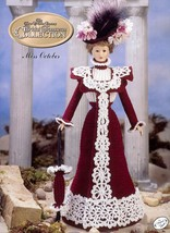 Miss October 1995 Bridal Trousseau Outfit for Barbie Doll Crochet Pattern - $3.57